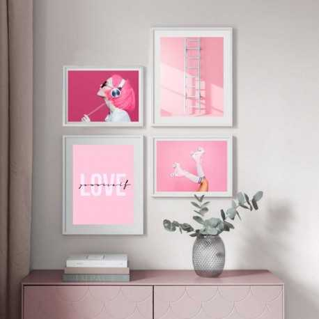 pink legs