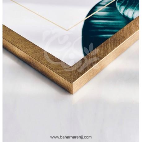 قاب PVC طلایی 2cm